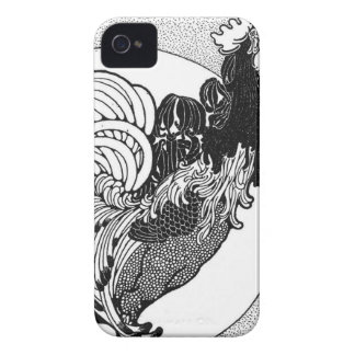 Vintage Rooster iphone case Case-Mate iPhone 4 Cases