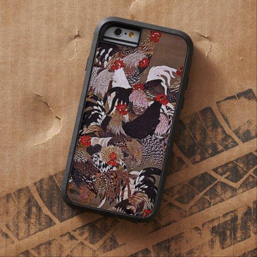 Vintage Roosters Art iPhone 6 Case