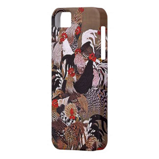 Vintage Roosters Art iPhone 5 Cases