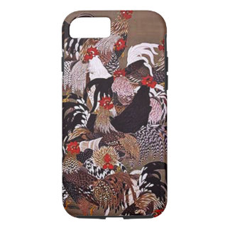 Vintage Roosters Art iPhone 7 Case
