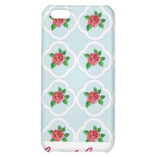 Vintage Rose and Quatrefoil iPhone 4 Speck Case Case For iPhone 5C