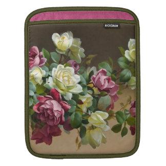 Vintage Rose Bouquet Fine Art iPad Sleeves