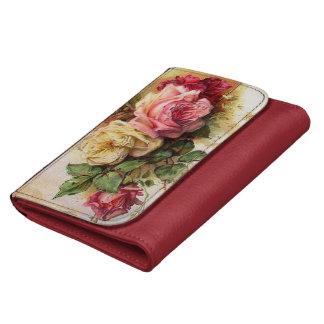 Vintage Rose Bouquet Wallets