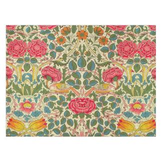 Vintage Rose Chintz Floral pattern Tablecloth