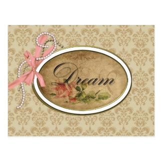 Vintage Rose Dream Post Cards