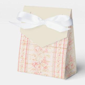 Vintage Rose Favour Box
