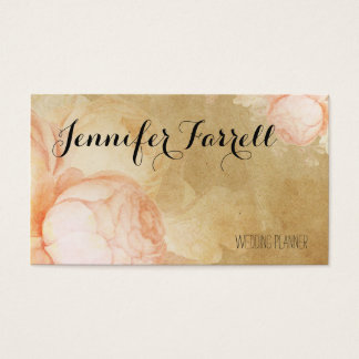 Vintage Rose Garden Business Cards