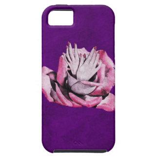 Vintage Rose Hands Nails Grunge iPhone 5 Cases