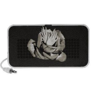 Vintage Rose Hands Nails Grunge iPhone Speaker