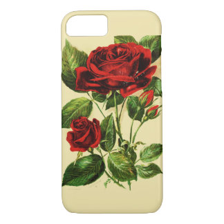 Vintage Rose iPhone 7 Case
