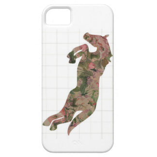 Vintage Rose Jumping Horse iphone 5 cover