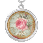 Vintage Rose 'Mum' Necklace