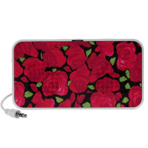 Vintage rose novel TIC Mini Speakers