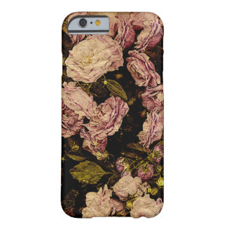 vintage rose on aged paper -i-phone case barely there iPhone 6 case