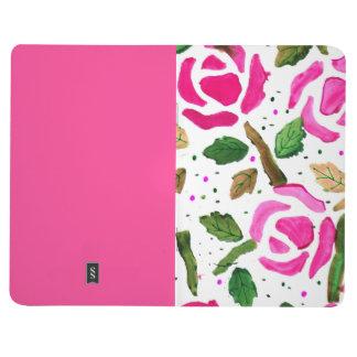 Vintage Rose Pattern Journal