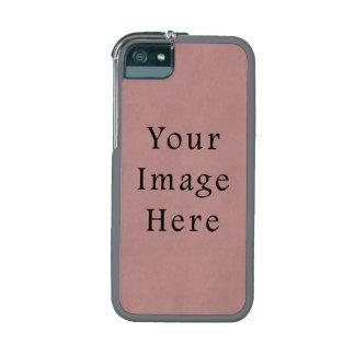 Vintage Rose Pink Lavender Parchment Paper Purple iPhone 5 Cover