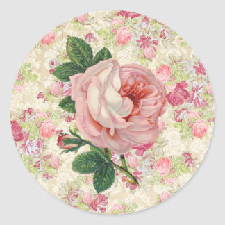 Vintage Rose Stickers
