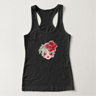 Vintage Rose Tank Dark Colors