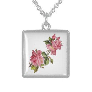 Vintage Rose Vine Necklace