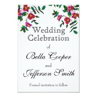 Vintage Rose - wedding invitation