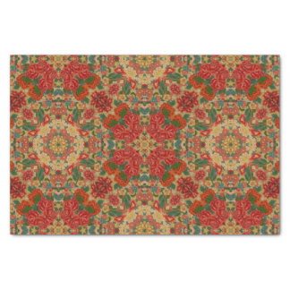 Vintage Roses Abstract Tissue Paper