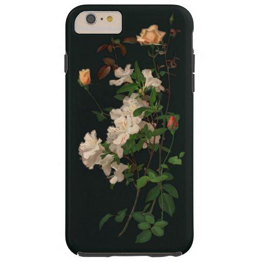 Vintage Roses and Azaleas Tough iPhone 6 Plus Case