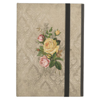 Vintage Roses and Damask Case For iPad Air