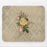 Vintage Roses and Damask Mousepads