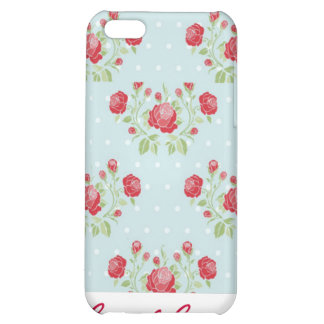 Vintage Roses and Dots Pattern iPhone 4 Speck Case iPhone 5C Covers