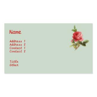 Vintage Roses Business Card