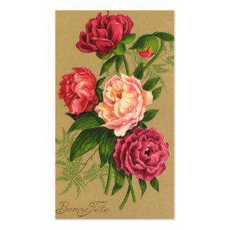 Vintage Roses Business Card Business Card