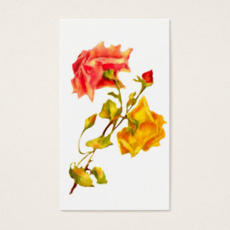 Vintage Roses Business/Profile Cards