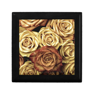 Vintage Roses Jewelry Boxes