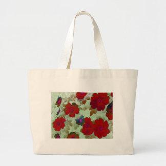 Vintage Roses Hips Jumbo Tote Bag