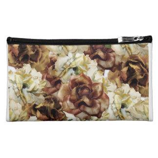 Vintage Roses Makeup Bag