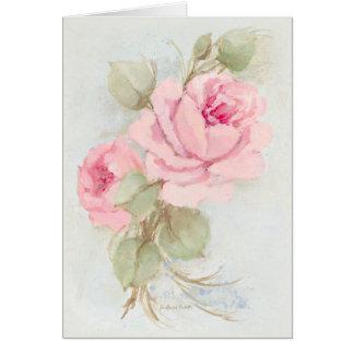 Vintage Roses Note Cards