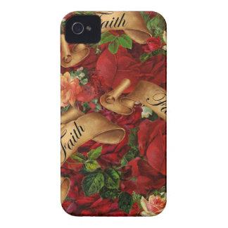 Vintage Roses of Faith Blackberry Case