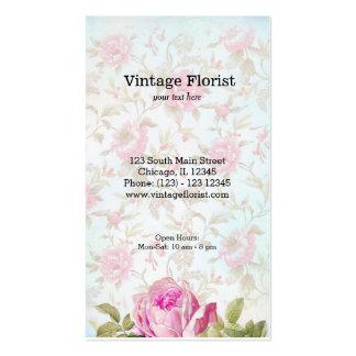 Vintage Roses Pack Of Standard Business Cards