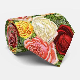 Vintage Roses Tie