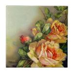 Vintage Roses Tile