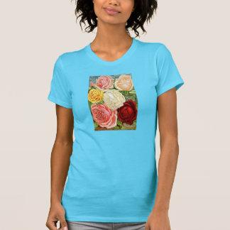 Vintage  Roses Tshirts