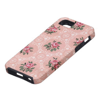 Vintage Roses Wallpaper iPhone 5 case cover