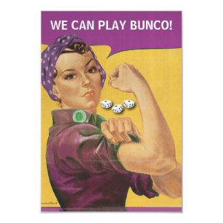 Vintage Rosie Funny Bunco Invite