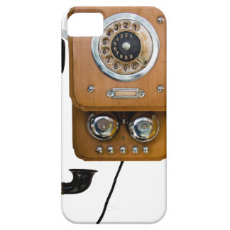 vintage rotary dial land line phone iPhone 5 cover