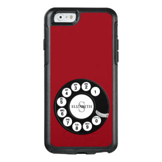 Vintage Rotary Dial (Red) OtterBox iPhone 6/6s Case