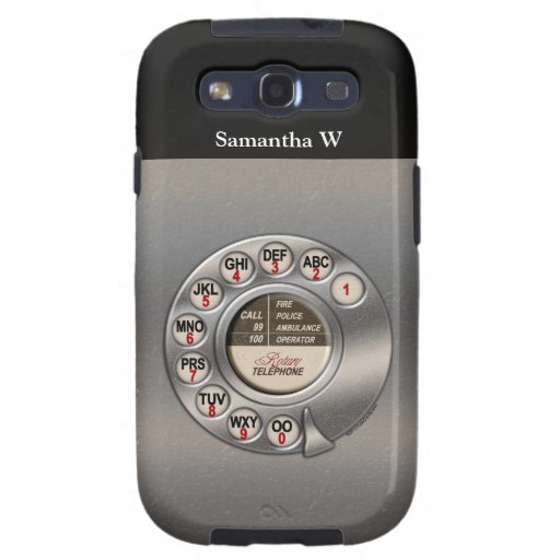 Vintage Rotary Phone Samsung Galaxy S3 Cover