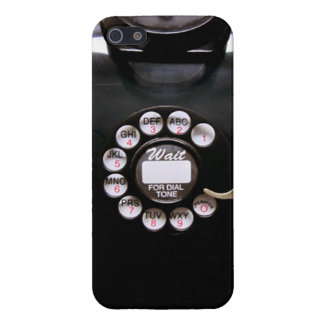 Vintage Rotary Wall Phone iPhone 5/5S Case