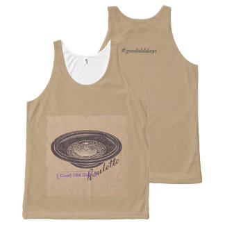 vintage roulette All-Over print tank top