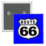 VINTAGE ROUTE 66 AMERICANA FATHER'S DAY BUTTONS