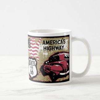 Vintage Route 66 Coffee Mug